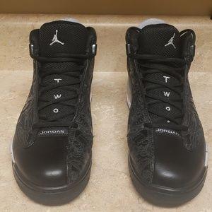 Nike Air Jordan Dub Zero Black Wolf Grey White